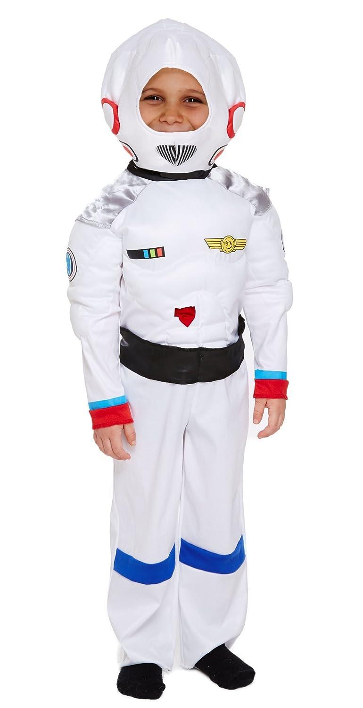 Kinder Space Boy Kostüm 4–12 Jahren Jahren Jahren Fancy Dress Party Welt Buch Tag/Woche e9dd24
