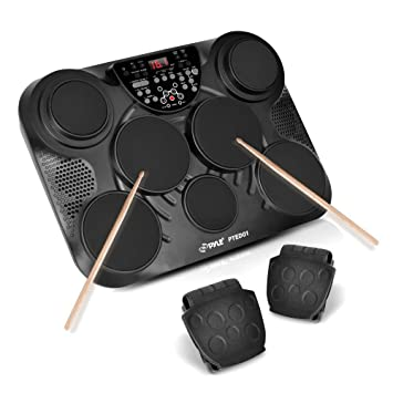 Pyle-Pro PTED01 Electronic Drum Set/Table Top  sc 1 st  Amazon UK & Pyle-Pro PTED01 Electronic Drum Set/Table Top: Amazon.co.uk: Musical ...