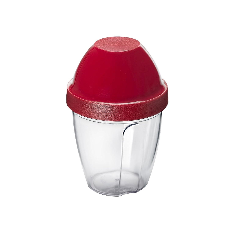 Westmark 30892270 Shaker Mix-Ei Kitchen Tool, 8.5 oz, Red/Transparent