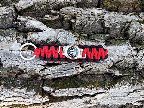 Toronto Raptors NBA Basketball Team Paracord Keychain