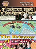 Historical Adventure: A Connecticut Yankee in King Arthur's Court/Around the World in 80 Days/The Prisoner of Zenda (Bank Street Graphic Novels)