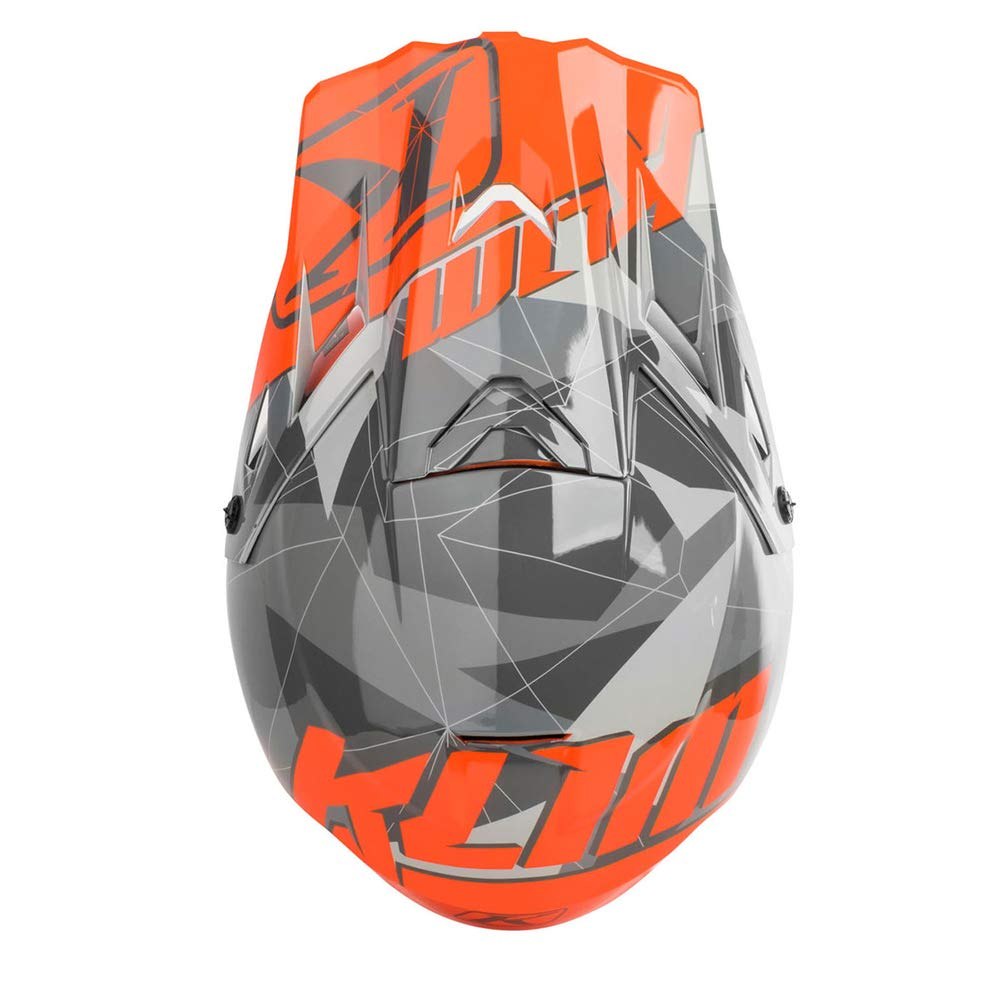 Ripper Red//Large 3110-000-150-010 KLIM F3 Mens Ski Snowmobile Helmet