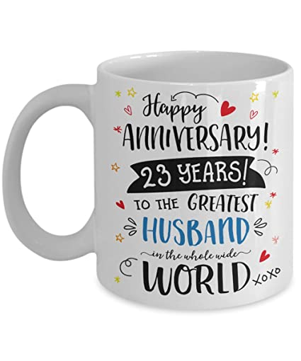 Amazon 23rd Wedding Anniversary Gifts For Him Greatest