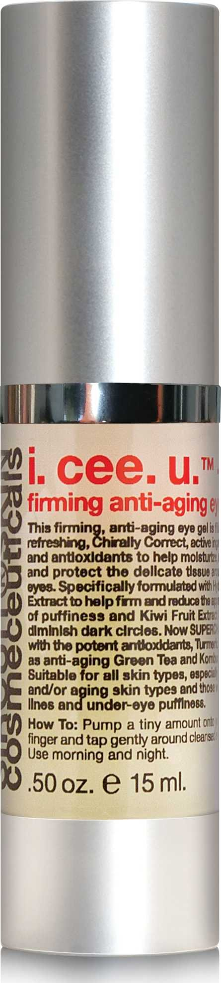 Sircuit Skin - I. CEE. U.+ Firming Anti-Aging Eye Gel, 0.5 oz.