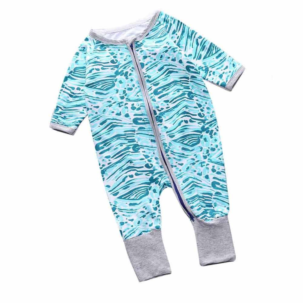 Unisex Baby Ocean Zip Front Sleep 'N Play Mary ye