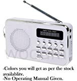 SaleOn™ Rechargeable Outdoor Speaker with FM Radio & MicroSD Card Support-091
