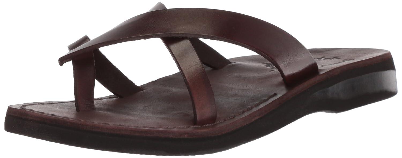 Jerusalem Sandals Women's Arad Slide Sandal B075KYCV33 40 Medium EU (9-9.5 US)|Brown
