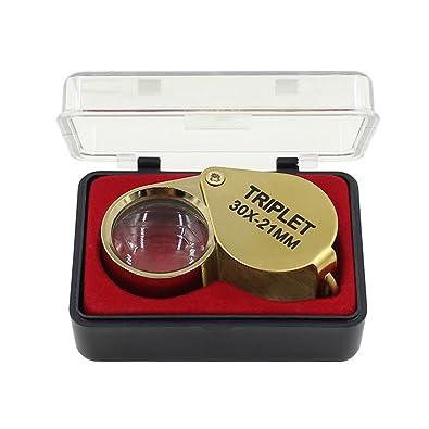 stk e shop  STK e-Shop - Lente di ingrandimento in vetro, 30 x 21 mm, colore ...