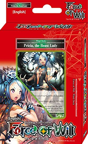 (Force Of Will Pricia The Beast Lady (Wind) FOW Alice Cluster Twilight Wanderer Starter Deck - 51 Cards)