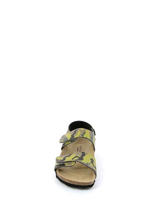 b40123ce6331d Grunland Junior SB0181 Sandales Enfant Green 35  Amazon.fr  Chaussures et  Sacs