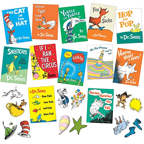 Dr. Seuss Books Mini Bulletin Board Set -