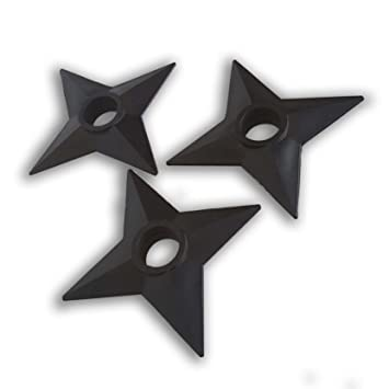Naruto Juego 3 Shuriken Estrella Ninja: Amazon.es: Juguetes ...