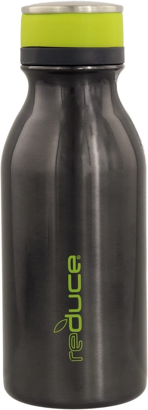 20oz reduce Stainless Steel Vacuum Insulated Hydro Pro Bottle with Nonslip Rubber Base /& Carrying Strap Opaque Gloss White Tasteless and Odorless