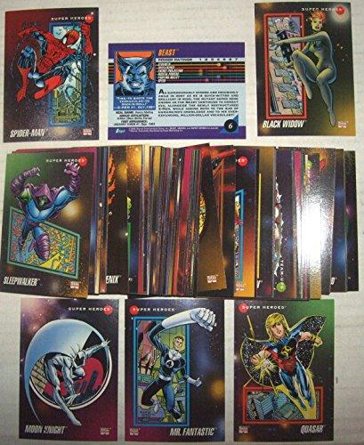 1992 IMPEL SKYBOX MARVEL UNIVERSE SERIES III, 200 SET