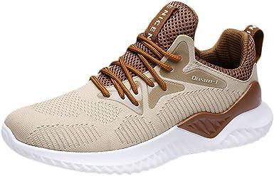 Hombre Zapatillas Deporte Zapatos para Correr Athletic Cordones Running Sports Sneakers Zapatillas De Deporte Hombre Respirable para Correr Zapatos Running JORICH: Amazon.es: Ropa y accesorios