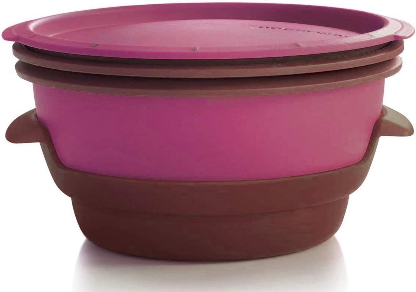 Tupperware Smart Steamer in New Royal Amethyst Purple - Microwave Safe