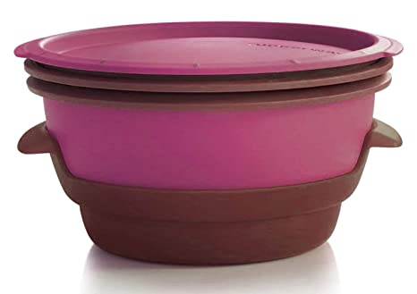 Amazon.com: Tupperware Smart Steamer en Nueva Royal de ...