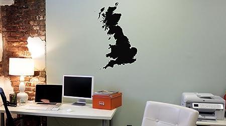 Gran Bretaña Mapa España Pegatina Vinilo Adhesivo Pared ...