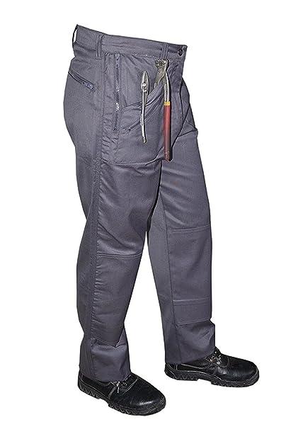 new arrivals pick up new lifestyle DK Men's Zipper Cargo Combat Trousers Pants. Action Work Combat Trousers