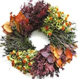 Last Waltz Autumn Wreath 17-18 inch