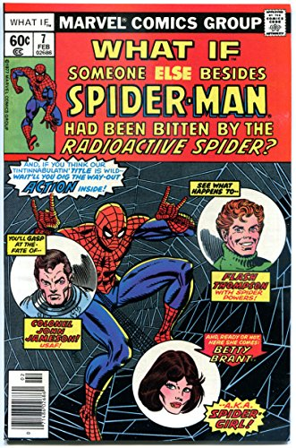 WHAT IF #7, FN, Spider-man was someone else, Radioactive Spider bite, Marvel]()