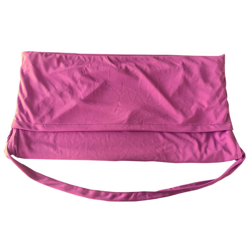 eroute66 Microfiber Beach Carpet Magic Cooling Towel Reusable Quick-dry Sport Yoga Summer Cloth Doormat Rose-Red