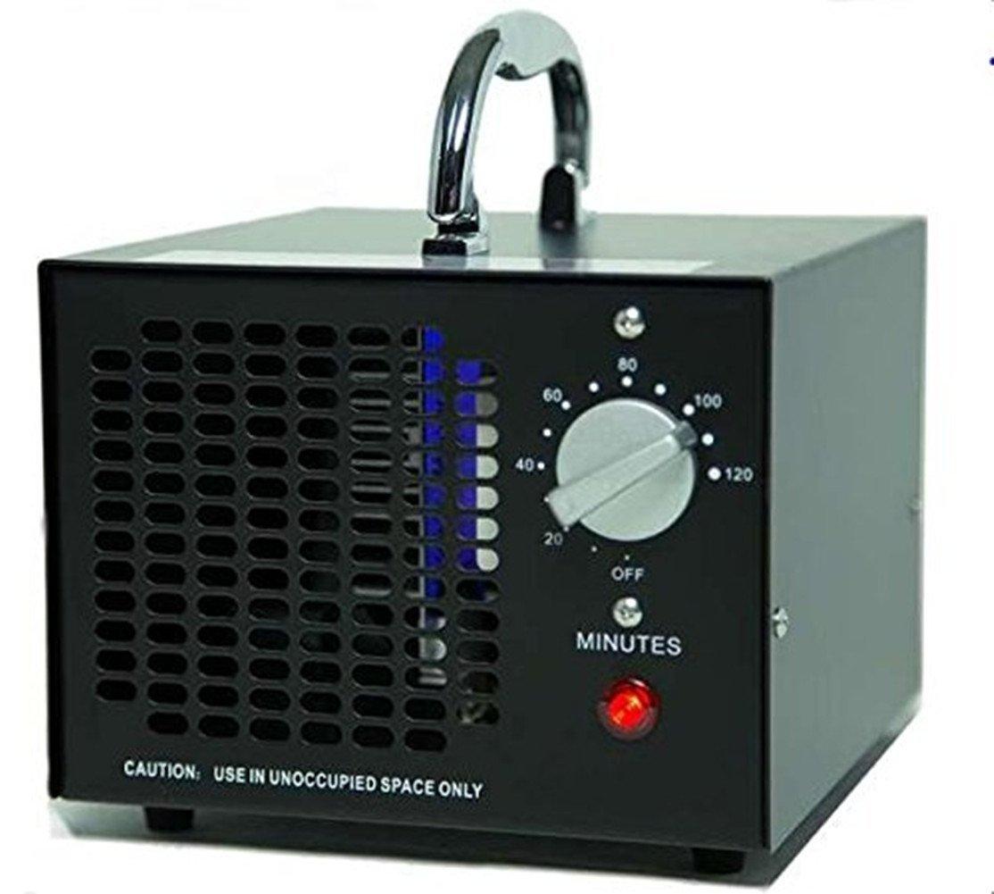 Jian Ya Na 110V 3500mg Commercial Industrial Ozone Generator Industrial O3 Air Purifier Mold Mildew Odor Deodorizer Sterilizer Black