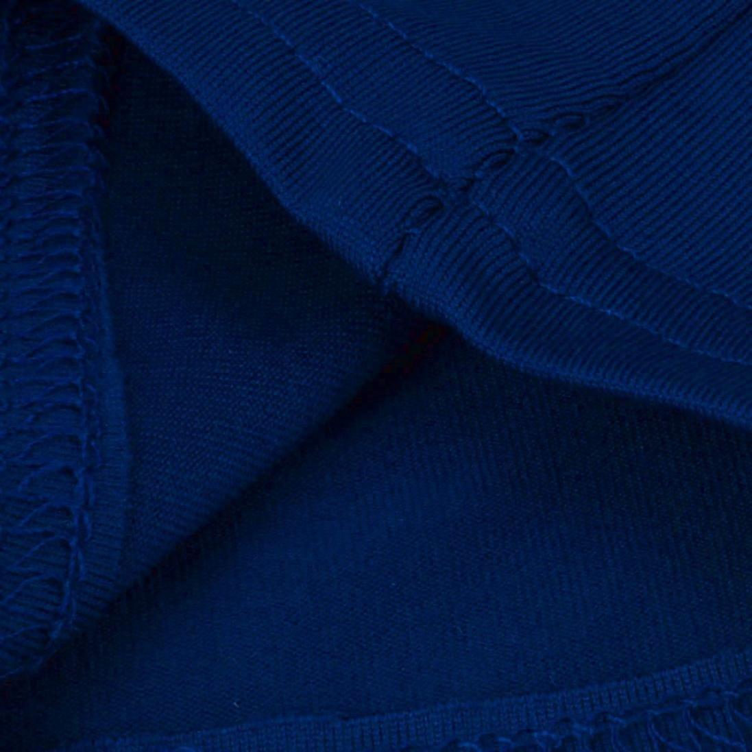 S, Blu Pagliaccetti Bodysuit,Jumpsuit Rompers Playsuits,YanhooPantaloni Lunghi Della Tuta Del Club Della Tuta Del Pagliaccetto Aderente Senza Maniche Delle Donne