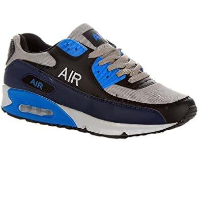 09a8c56a4e Mens Shock Absorbing Air Running Trainers Jogging Gym Fitness Trainer Shoes  Sizes 7-12 UK  Amazon.co.uk  Shoes   Bags
