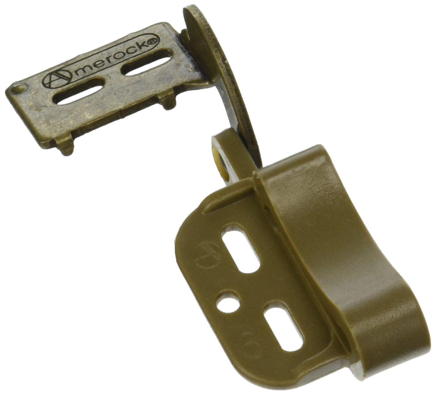 Amerock CM2606BB Marathon Knife QTY Cabinet Hinge