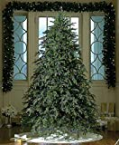 9' Downswept Hunter Fir Pre-Lit Artificial Christmas Tree - Multi Lights