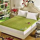 DHWJ WCCT Summer tatami mattress,Breathable bed cushion,Padded folding mattress-A 150x200cm(59x79inch)