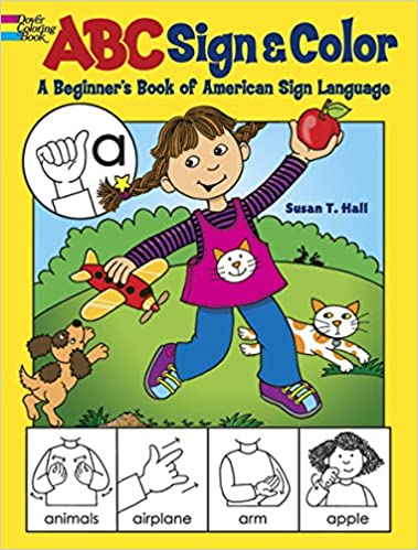 Buy ABC Sign and Color (Dover Coloring Books) Book Online at ...