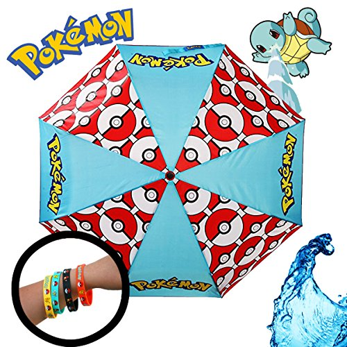 King Costume Burger Sale For (Pokemon Poké Ball Rain Umbrella with 4 Pack)