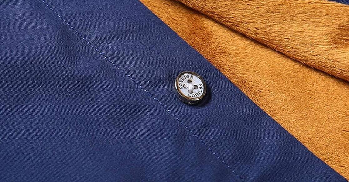 Mens Floral Dress Shirt Long Sleeve Slim Fit Casual Cotton Button Down Shirts