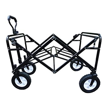 Carrito De Compras Marco De Acero Plegable Portátil Camping Wagon Para Carro De Playa Al Aire Libre,5: Amazon.es: Hogar