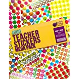 Purple Ladybug Teacher Stickers For Kids Mega Value Pack! 4960 Reward Stickers for Teachers & Incentive Stickers Sheets in Bulk for Classroom & School Use - with Star Stickers & Emoji Face Stickers!