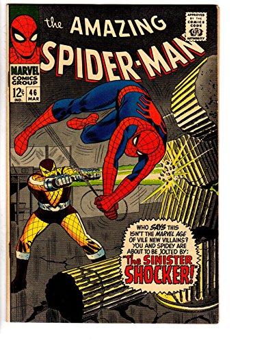 SPIDERMAN 46 MARCH 1967 FIRST SHOCKER VF