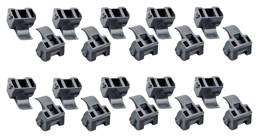 Blum 38C315B3 Blumotion 86 Degree Angle Restriction Hinge Clip, Nylon (Pack of 20)