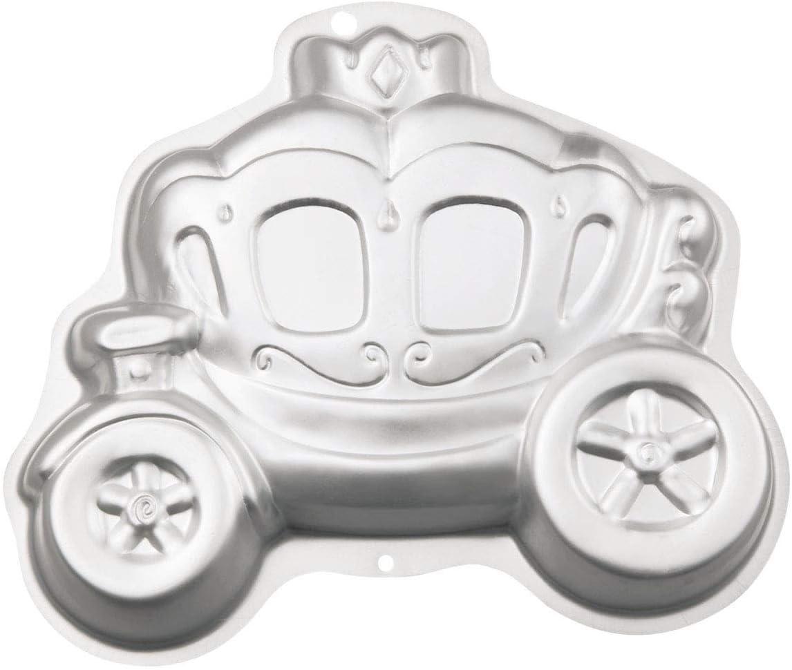 قالب كيك عربة أميرة اليقطين ثلاثية الأبعاد من الألمنيوم