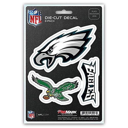 NFL Philadelphia Eagles Team Decal - Pack of 3, Blue, Standard (Philadelphia Eagles Decal compare prices)