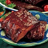 Omaha Steaks 4 (1 lb. pkgs.) Smoked Pork Loin Ribs