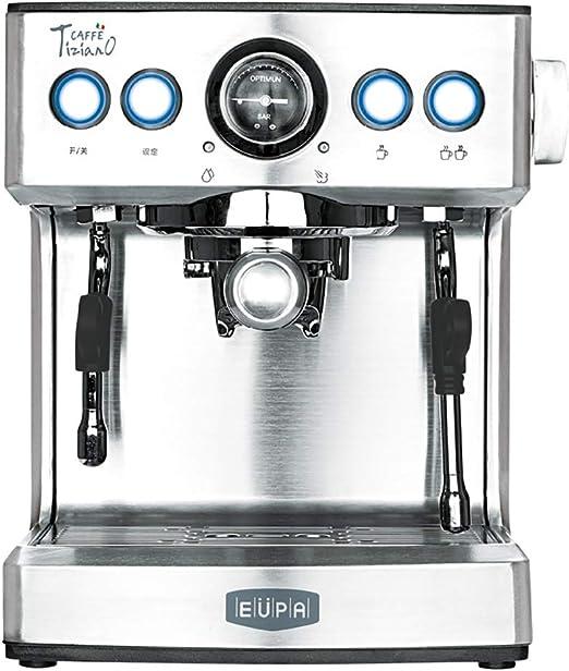 Cafetera de café expreso multifunción Cappuccino con un Solo botón ...
