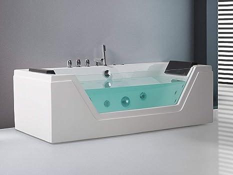 Vasca Da Bagno Acrilico Opinioni : Vasca da bagno da appoggio in acrilico bali sanycces
