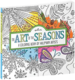 Hallmark The Art Of Seasons Coloring Book