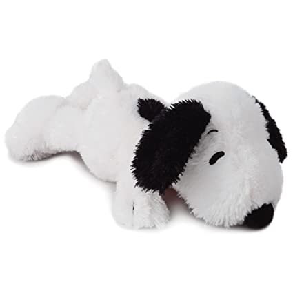 Amazon Com Hallmark Peanuts Snoopy Floppy Stuffed Animal 12 5