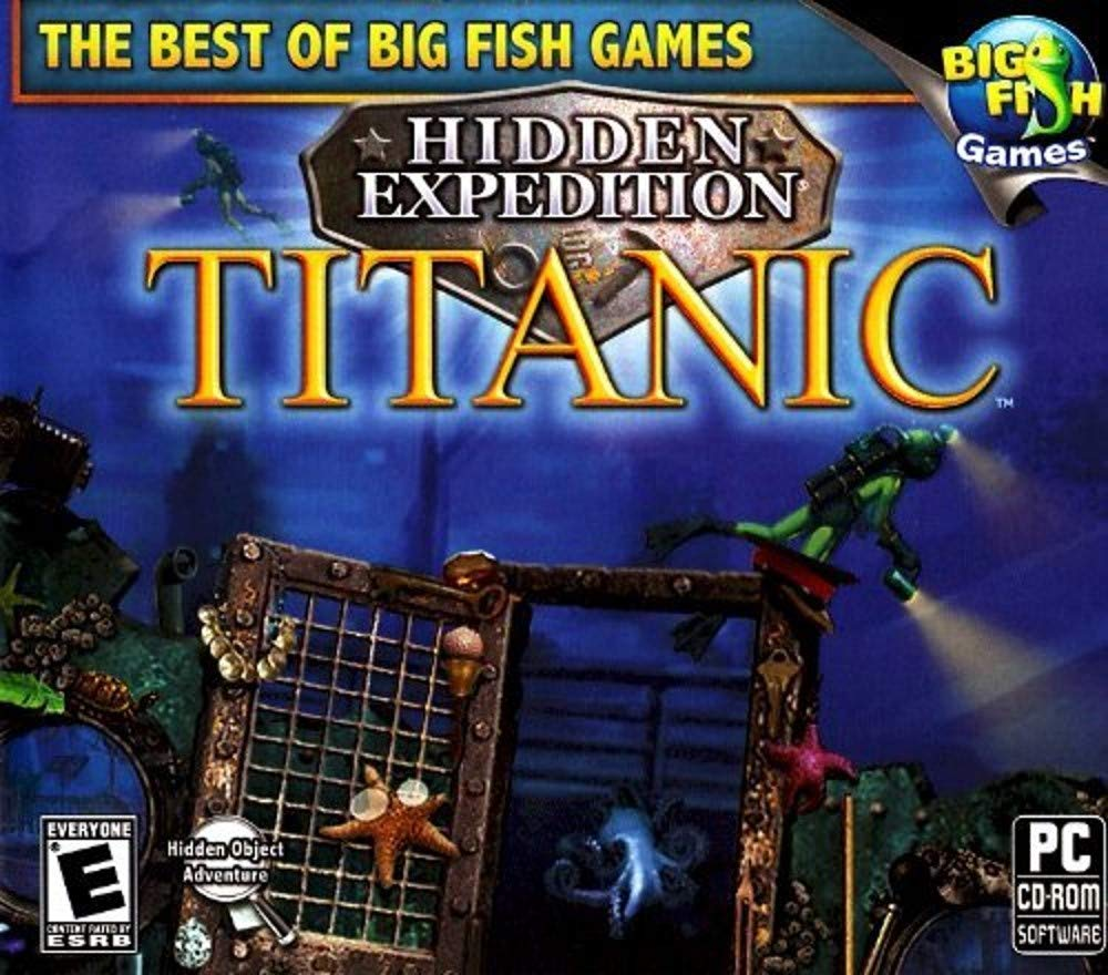 Amazon Com Big Fish Games Hidden Expedition Titanic Video Games