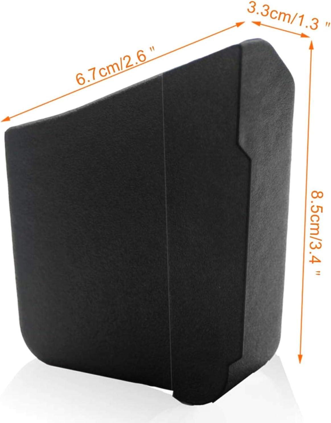 Fiween pa/ñuelos 2 Cajas de Almacenamiento para Coche Organizador peque/ño para organizar peque/ñas Llaves de tel/éfono
