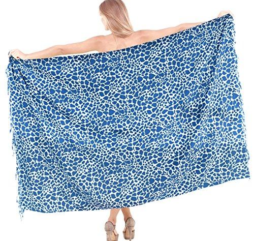 La Leela Sarong Bathing Suit Pareo Wrap Bikini Cover up W...