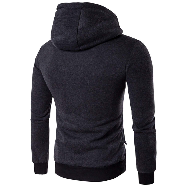 Amazon.com: Heroic spirit Jacket Men Fashion Outerwear Coats Autumn Warm Zipper Mens Jackets Chaqueta Hombre: Clothing